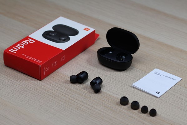 Auriculares In-ear Inalámbricos Xiaomi Redmi Airdots 2 Negro alt