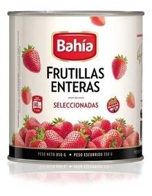 FRUTILLAS AL NAT. BAHIA x 520 GRS