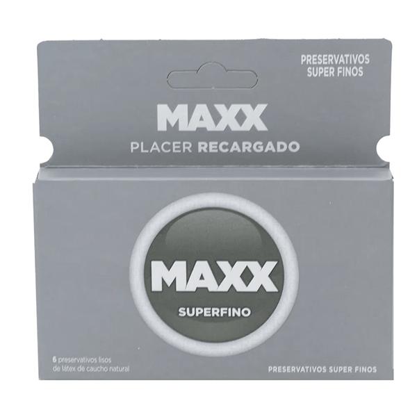 Maxx Preservativo Super Fino x6 Unidades  #1
