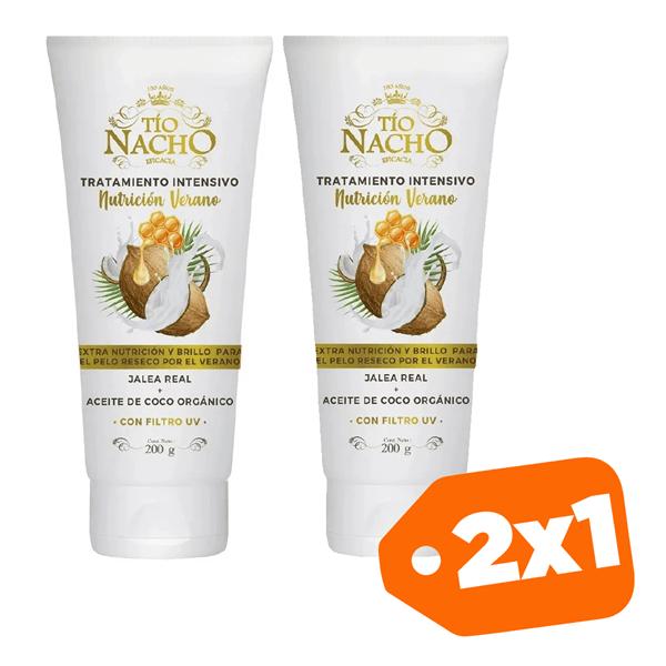 Promo 2x1 Tio Nacho Tratamiento Nutrición Verano 200g