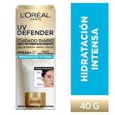 Crema Hidratacion Intensa fps50 L'Oréal Paris Uv Defender x 40g
