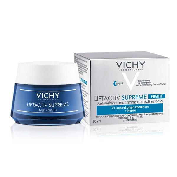 Vichy Liftactiv Supreme Antiarrugas Firmeza Global Crema De Noche X 50 Ml alt