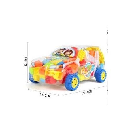 Camioneta Con Bloques
