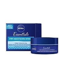 Nivea Essentials Crema Facial De Noche Regeneradora Antiarrugas