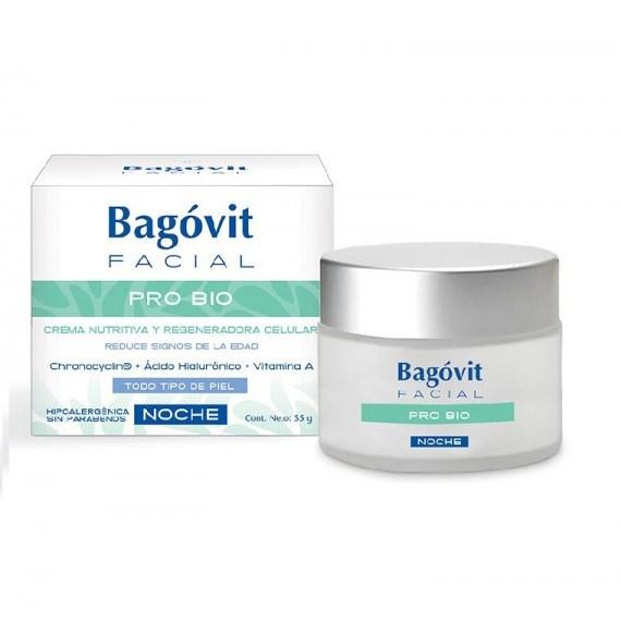 BAGOVIT FACIAL PRO BIO Crema de Noche x 55 gr