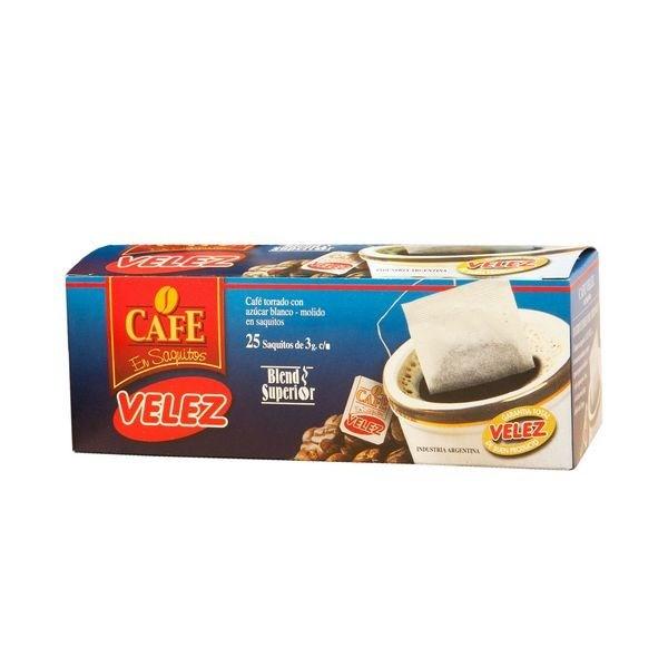 CAFE VELEZ SAQUITOS X 25 X 3 GRS