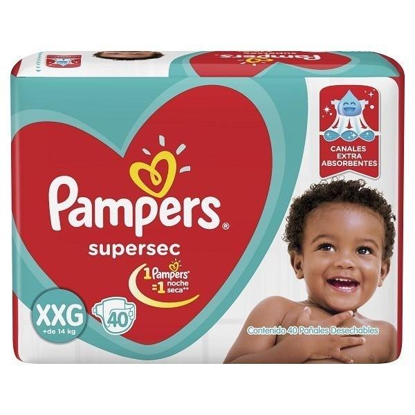 PL PAMPERS SUPERSEC HIPER XXG x 40 U