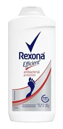 Rexona Efficient Talco Pédico Antibacterial 200g