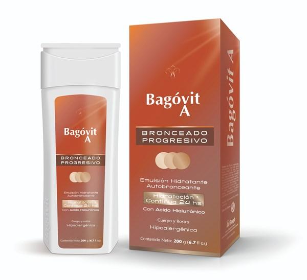 Bagovit A Autobronceante Emulsión Hidratante X 200 Ml
