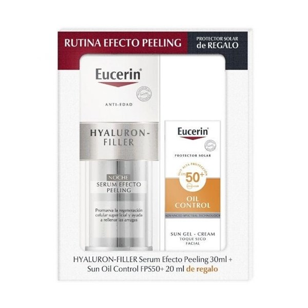 Eucerin Hyalluron Filler Noche + Fotoprotector FPS 50 20ml