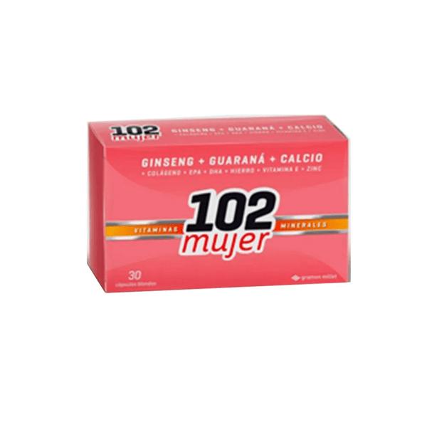 102 años plus Mujer, 30 comprimidos