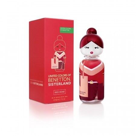 United Colors Of Benetton Sisterland Red Rose EDT x80ml alt