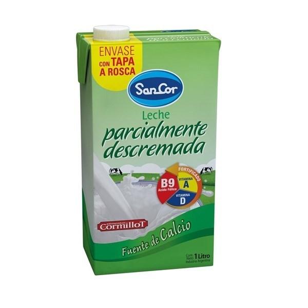 LECHE SANCOR DESCREMADA UAT. x 1 L