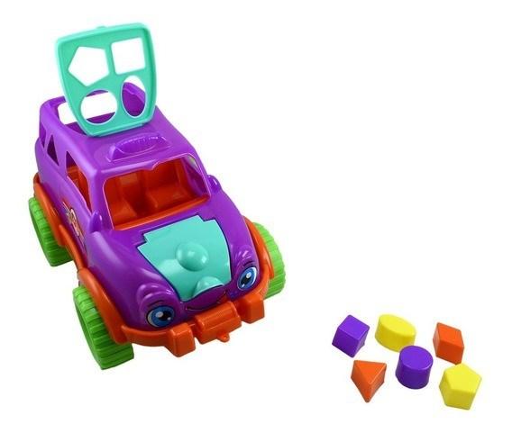 Camioneta Didáctica Con Encastre