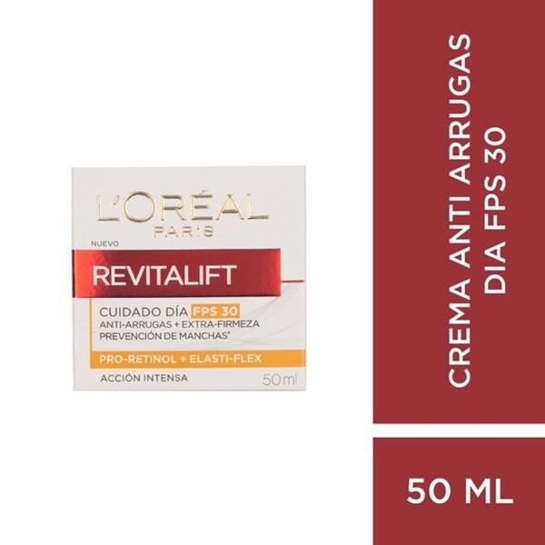Crema Loreal Revitalift Crema de día SPF 30 50 ml