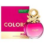 Benetton Eau De Toilette x 50ml Colors Pink  #1