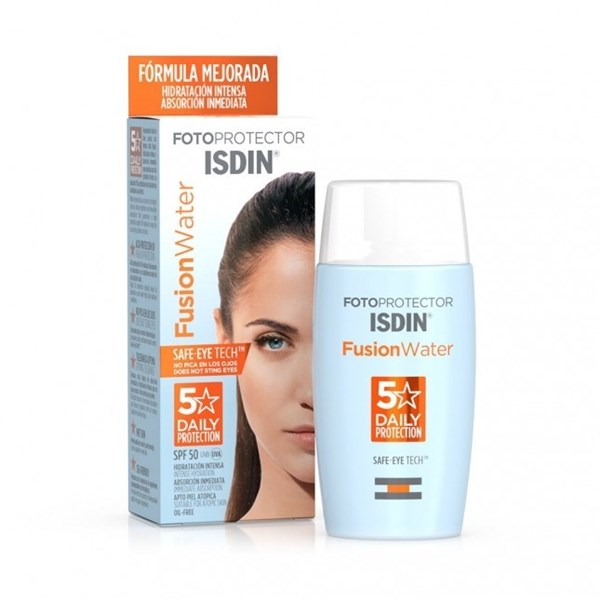 ISDIN Fotoprotector Fusion Water 5 Daily Proteccion FPS 50+ 50ml