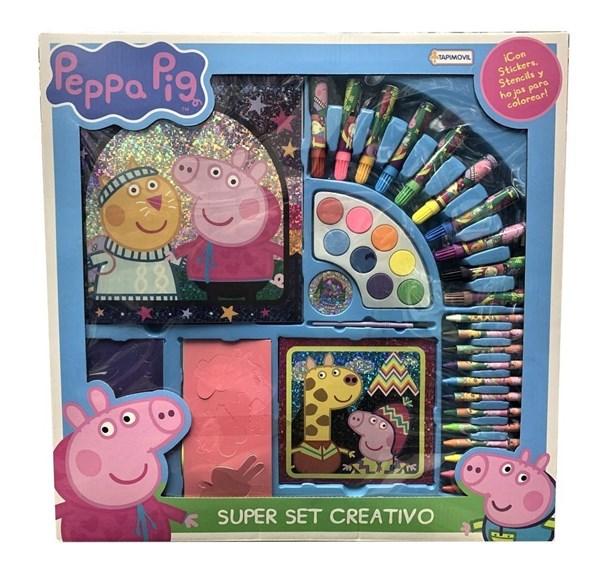 Super Set Creativo Peppa Pig