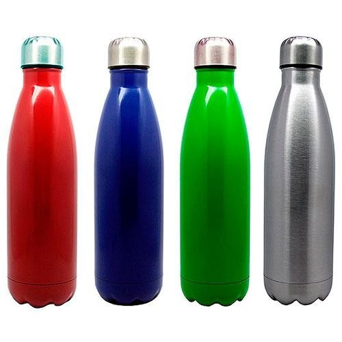 Botella de Aluminio Termica con Tapa a Rosca