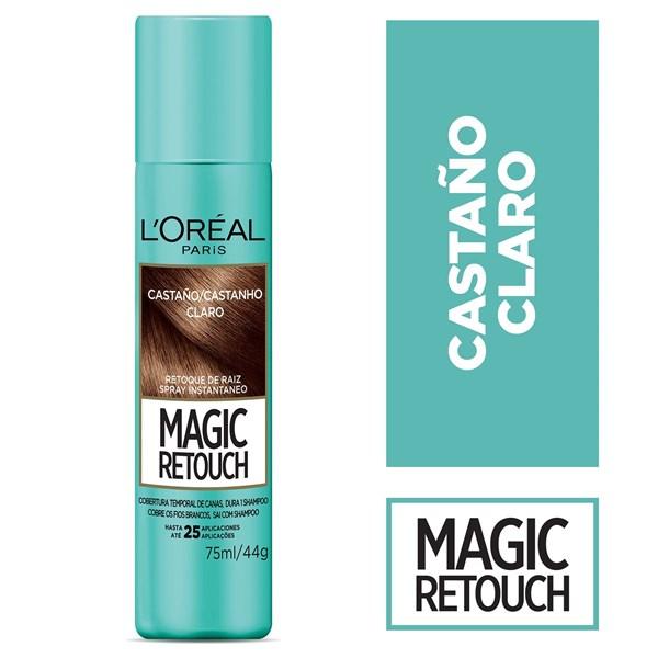 Loreal Magic Retouch Castaño Claro