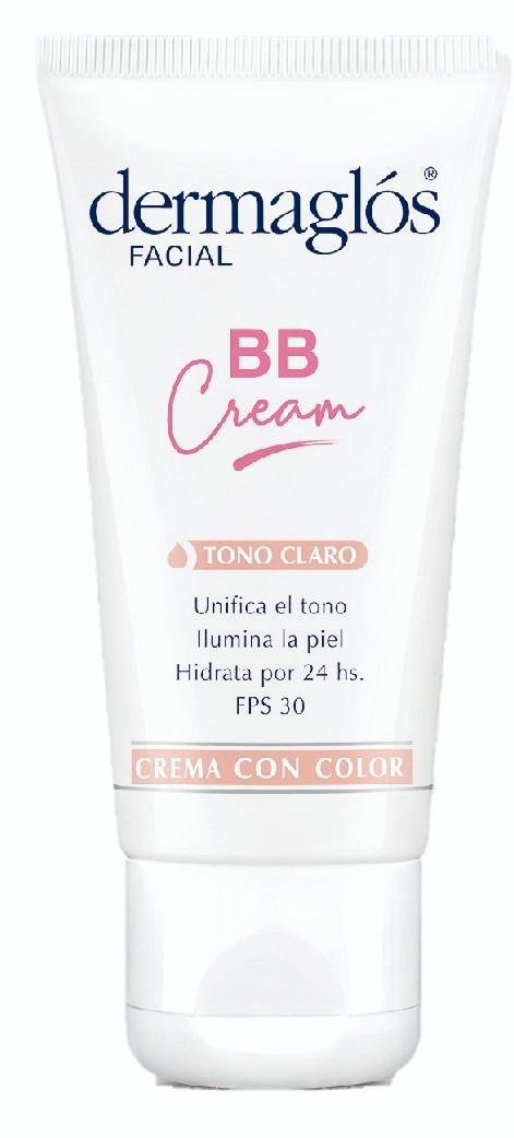 Dermaglos BB Cream Tono Claro FPS30 X 50 Gr