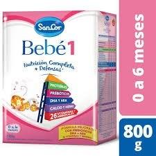 Leche Sancor Bebe 1 (nutricion Completa) Polvo x800gr