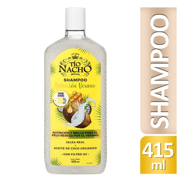 Tío Nacho edición verano shampoo 415 ml