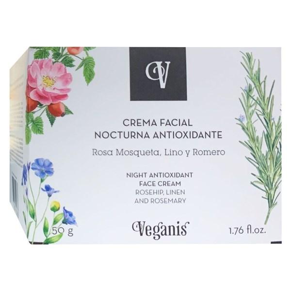 Veganis Facial Nocturna Antioxidante x80gr