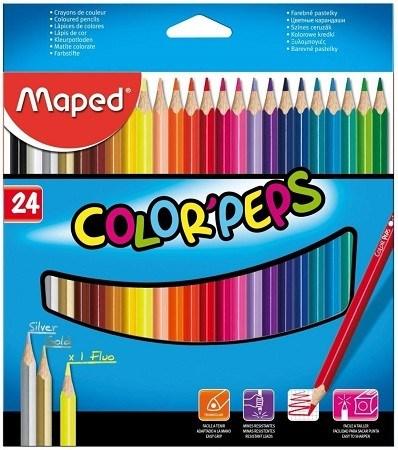 Maped Lápices De Colores Colorpeps x24
