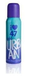 47 Street Rebel Urban Deo Spray 140ml