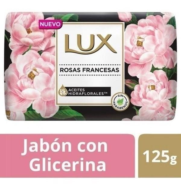 Jabon Lux Rosas Francesas Barra X 125 Gr