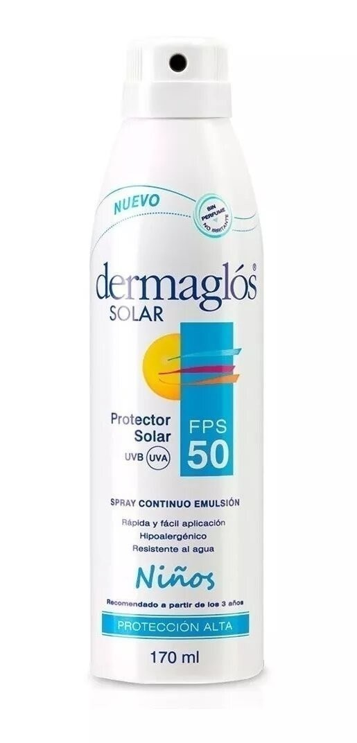 Dermaglós Protector Solar Niños Spray FPS 50 170ml