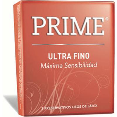 Preservativo Prime Ultra Fino X 3 Unidades