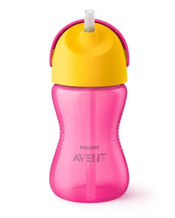 Vaso Con Sorbete Avent Straw Cup X 300 Ml Nena
