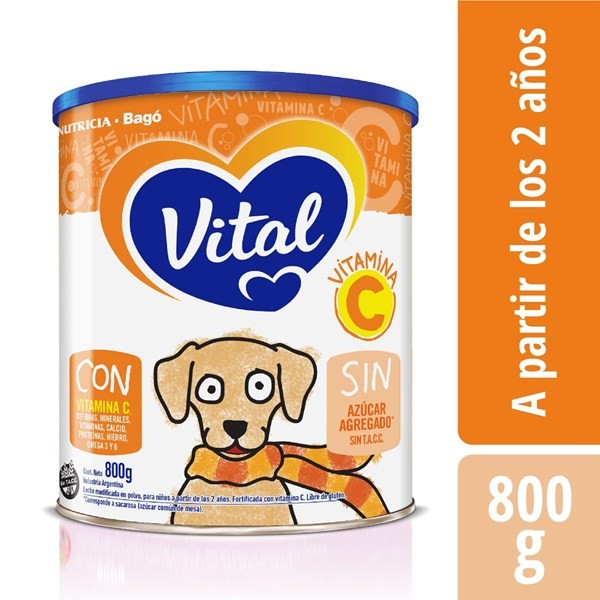 Vital Vitamina C Lata X 800 Gr