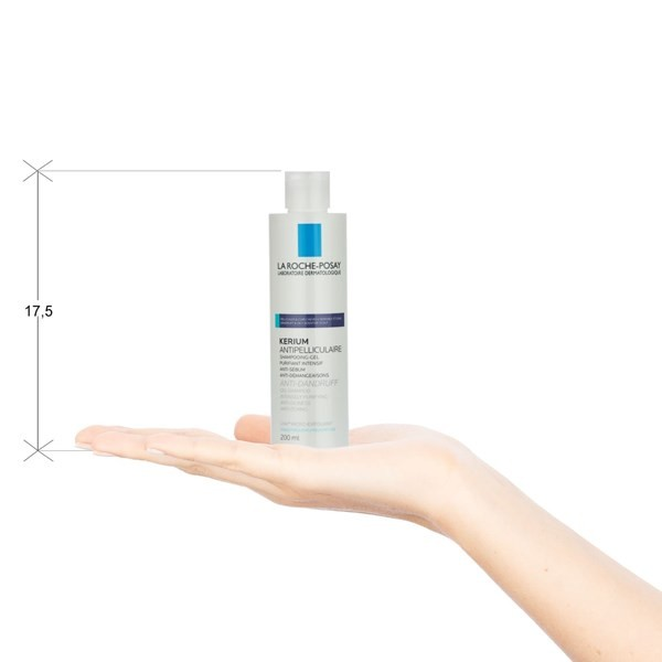 La Roche Posay Kerium Shampoo Anti-caspa Grasa