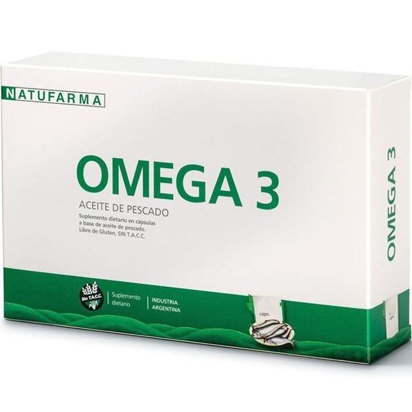 Natufarma Suplemento Dietario Omega 3 Aceite De Pescado (50 Capsulas)