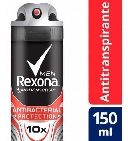 Desodorante Rexona Protección Antibacterial 150ml
