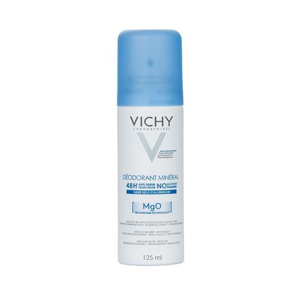 Vichy Desodorante En Aerosol Mineral De 125 Ml 48hs