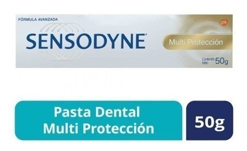 Sensodyne Crema Dental Multi Protección Fórmula Avanzada x50g