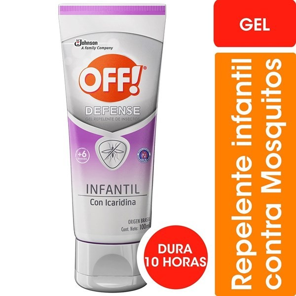 Off Defense Infantil Gel 100 Ml Repelente