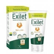 Exilet Repelente Crema Natural Bebes Y Niños X70g