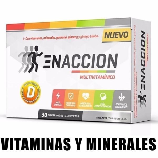 Enaccion Mutivitaminico X 30cop
