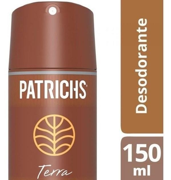 Desodorante Hombre Patrichs Terra 150ml Aerosol