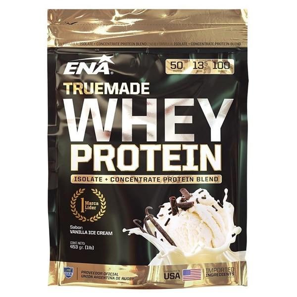 Whey Protein True Made Vanilla Ice Cream - 1lb Isolate + Concentrate