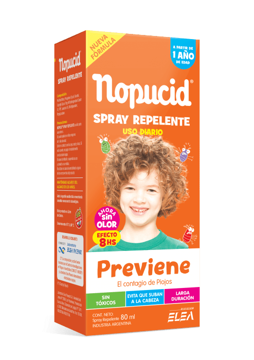 Spray Nopucid Repelente X 80 Ml