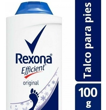 Talco Para Pies Rexona Efficient Original 100g