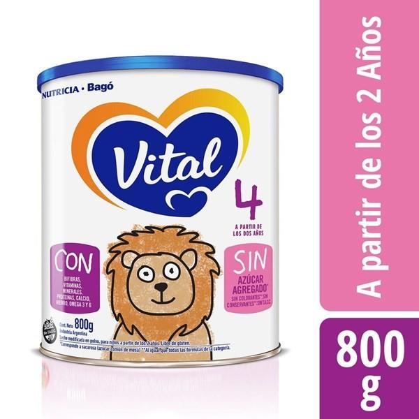 Vital Infantil 4 Nutri Plus 800 Grs