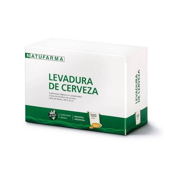 Levadura De Cerveza X 100 Comprimidos