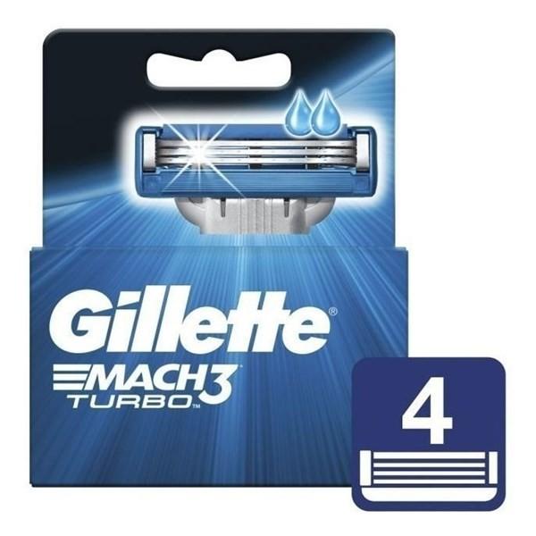 Gillette Mach3 Turbo x4